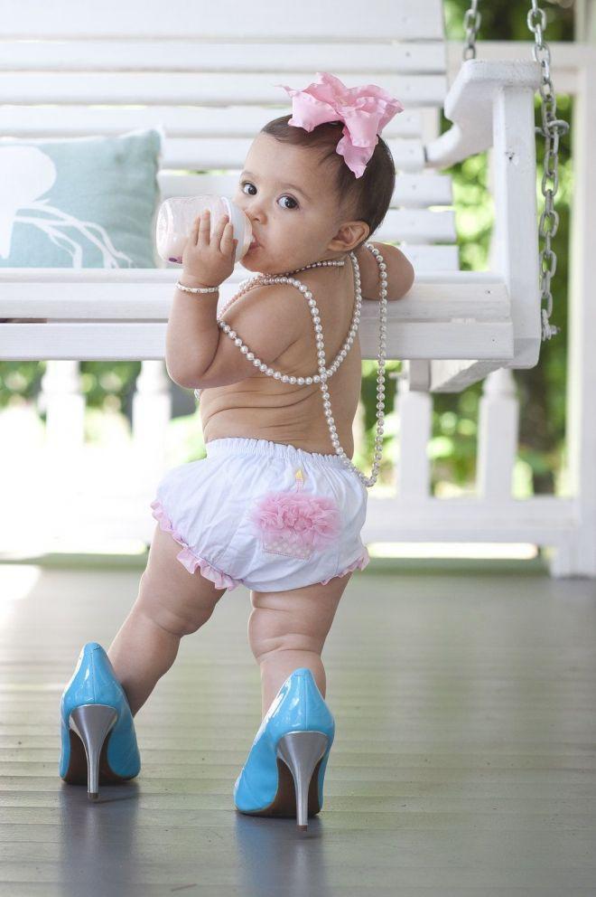 Смешные картинки маленьких модница