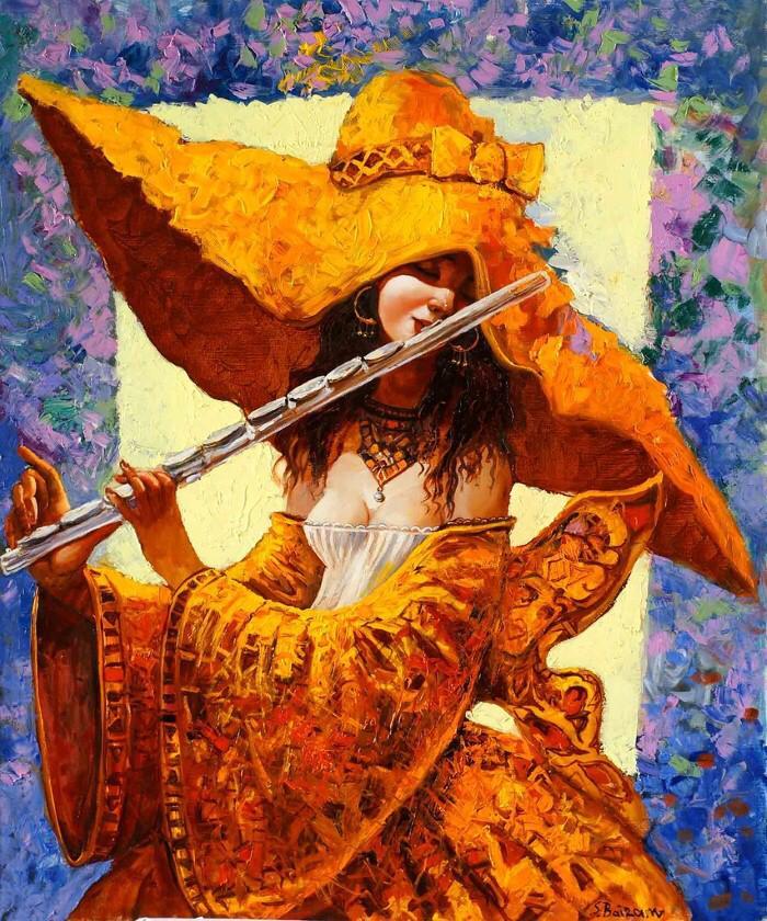 Открытки с флейтой, картинки про
