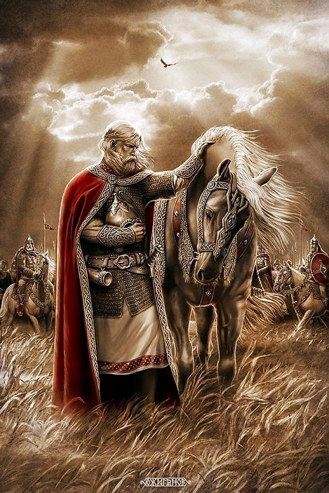 Славянские воины картинки