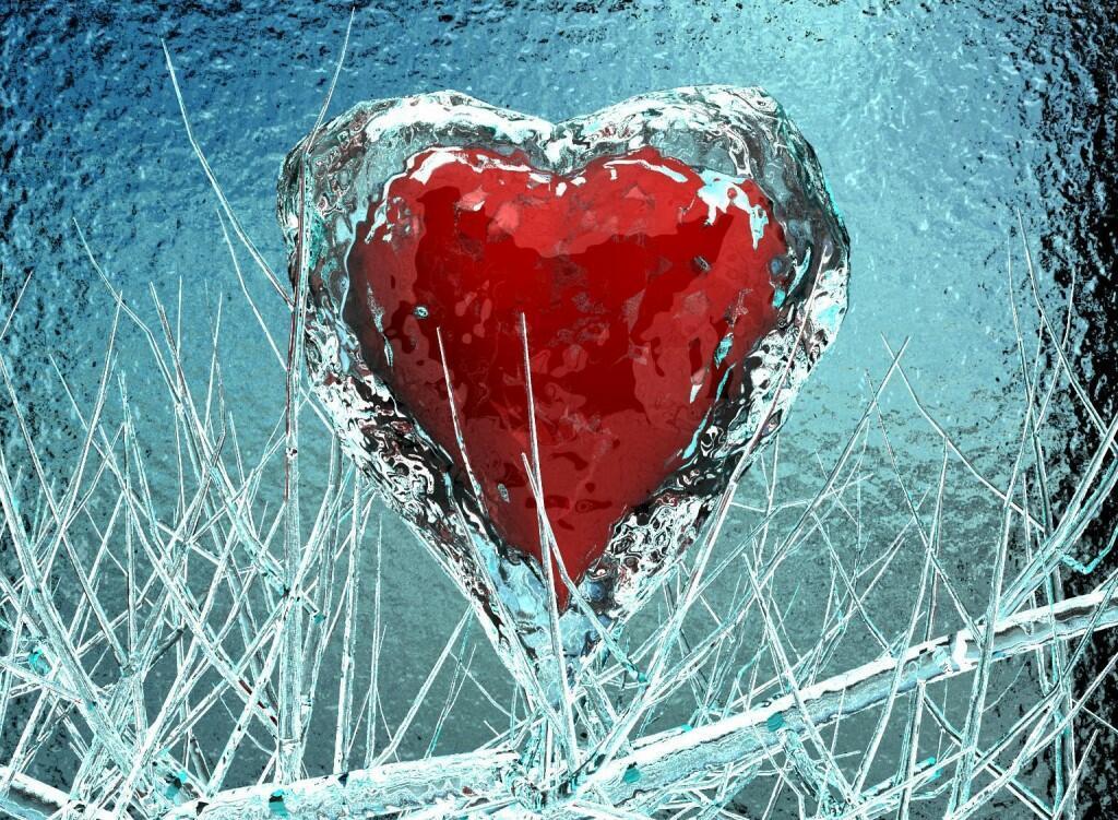 фото ледяное сердце как лед людям
