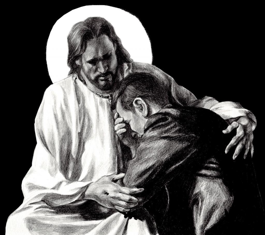Кающийся грешник картинки