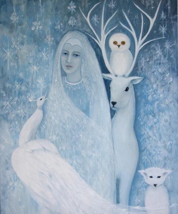 картина матушка зима следующем