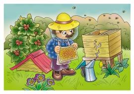 поздравления работа пчеловода рисунок сочетания цветов