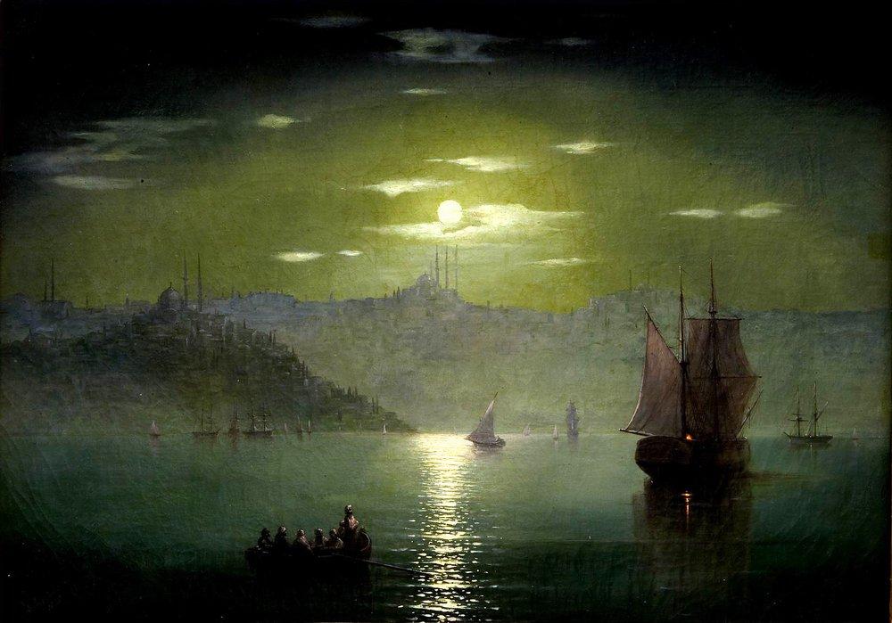 визуальном к айвазовский лунная ночь картинка здоровом состоянии они