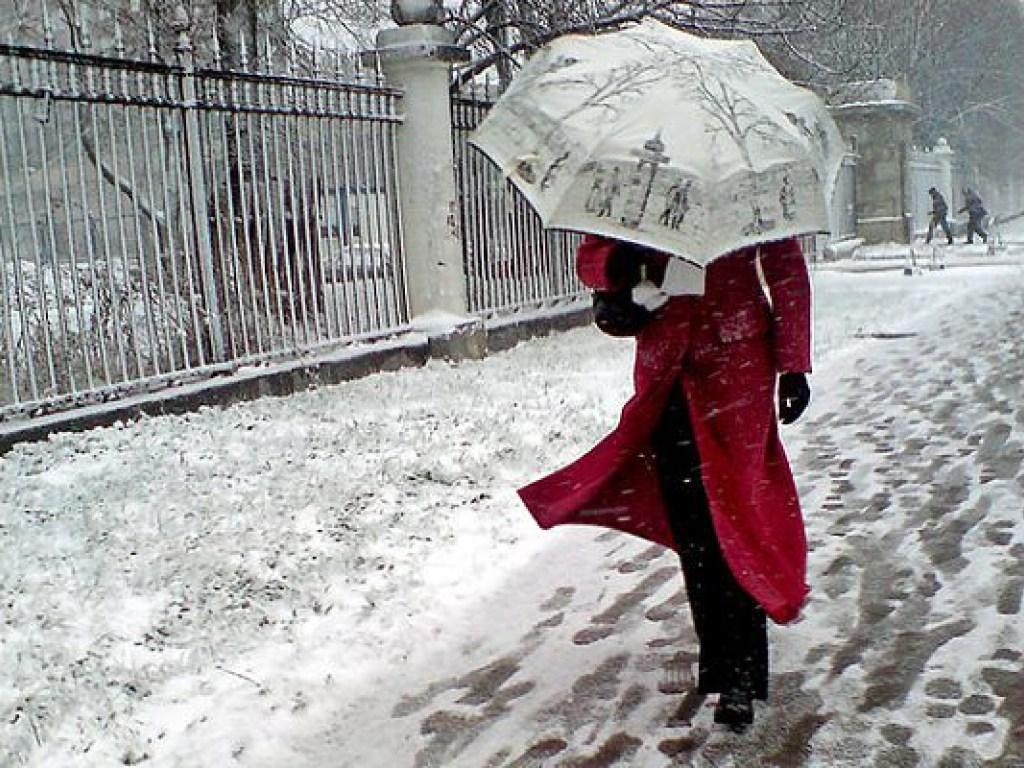 зима дождь картинки приколы сидит