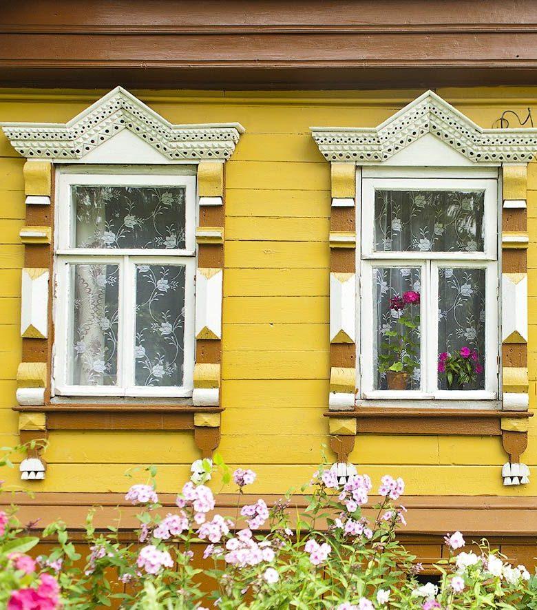 окна в деревенских домах фото гиганта
