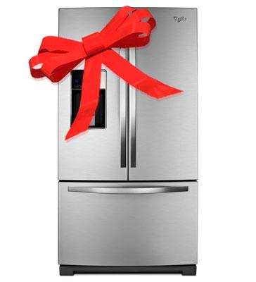 Поздравление подарка холодильника