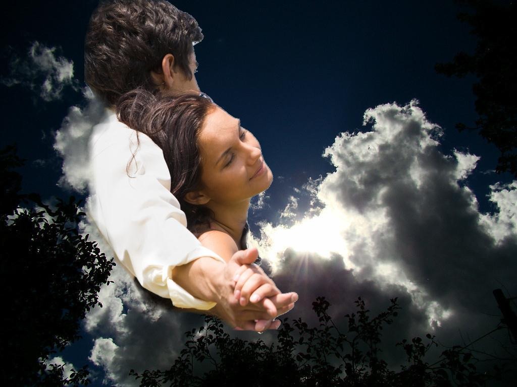 Двое на небесах фото