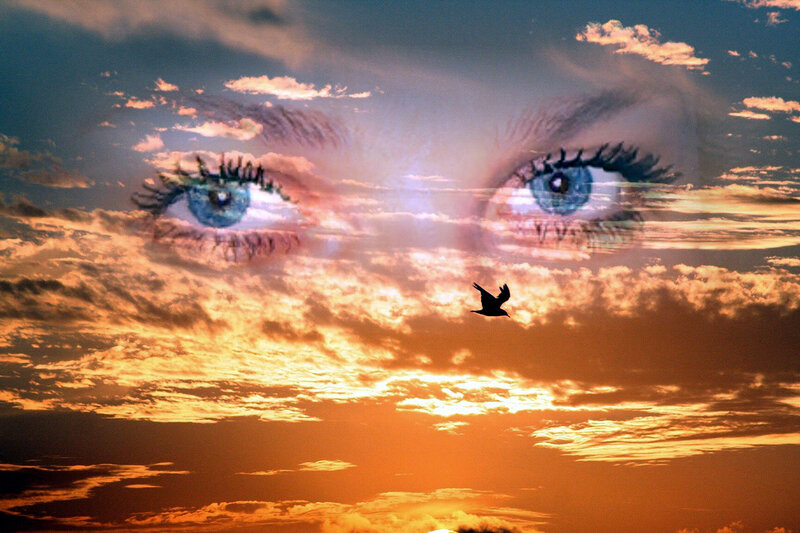 картинка глаза неба синего зря этот