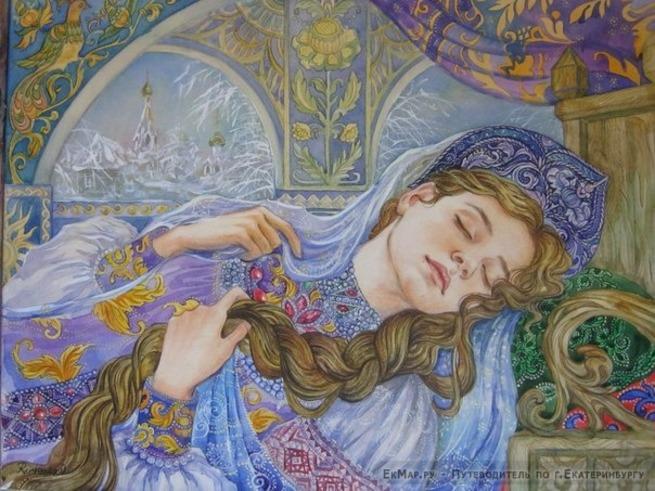 Картинки спящая красавица жуковский