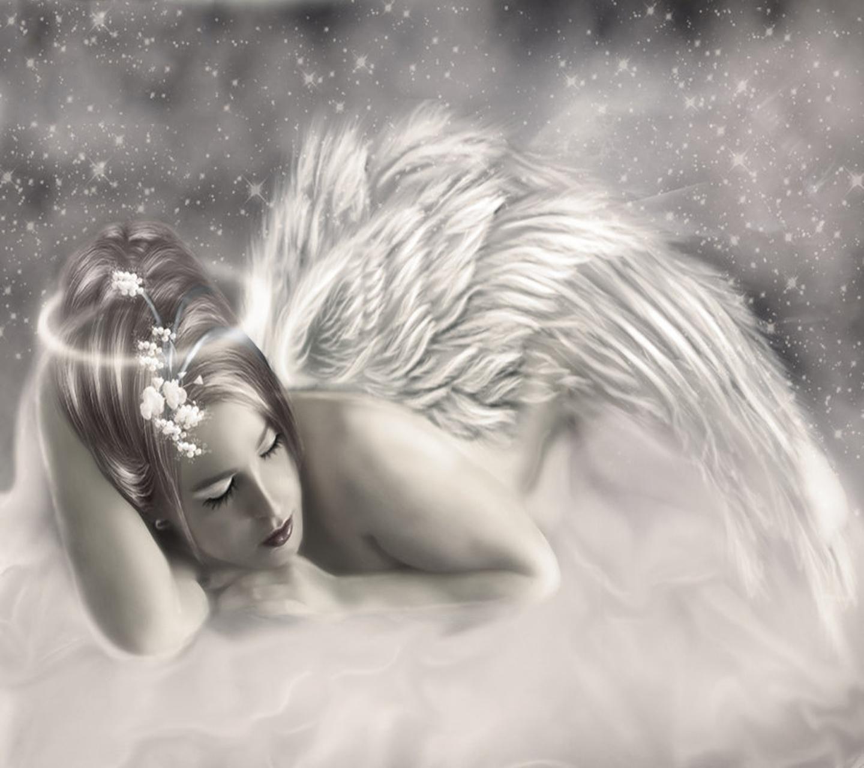 Ночной поцелуй ангела картинки