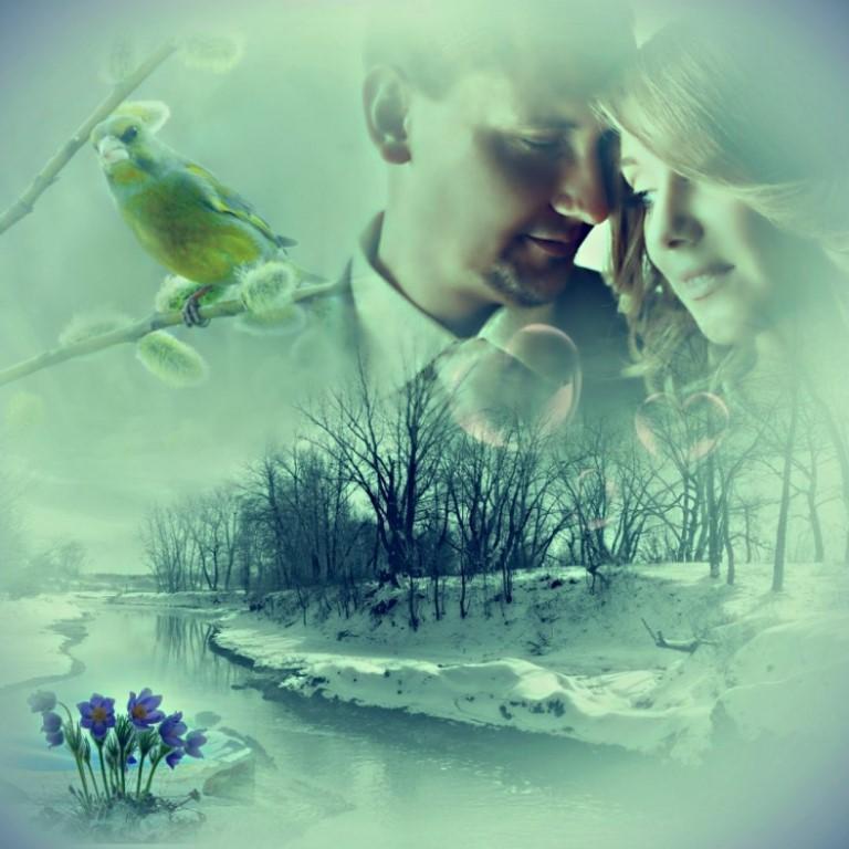 Весна любовь открытки