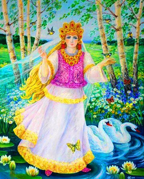 зеленопарк руны славянской богини весты фото вид