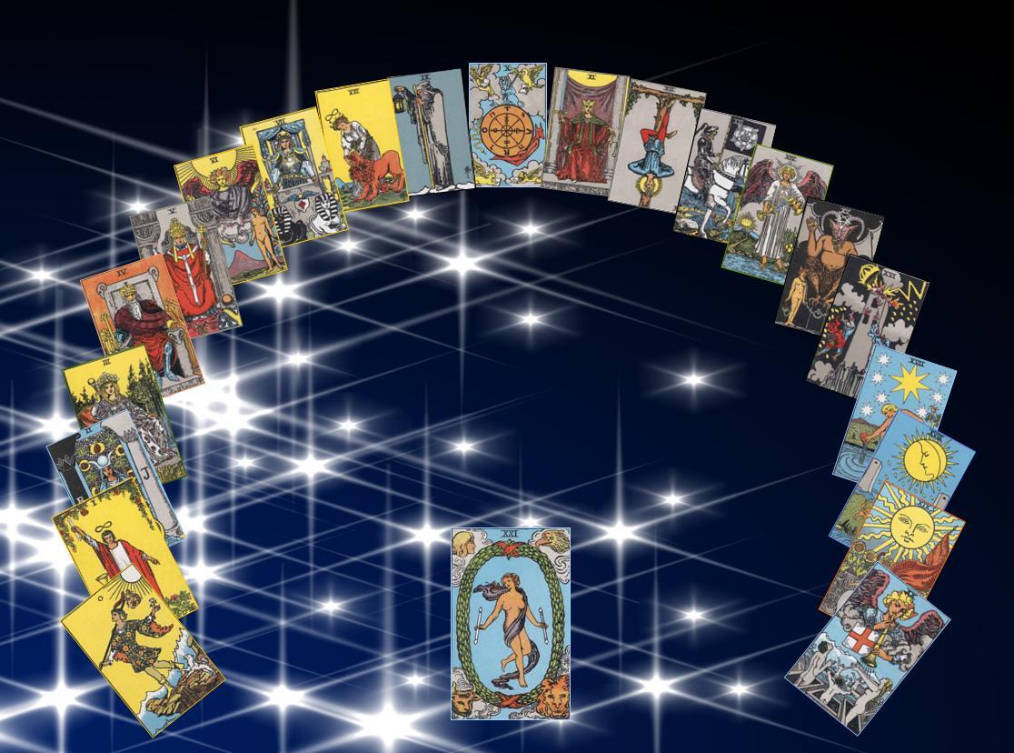 гадания на магических картах таро