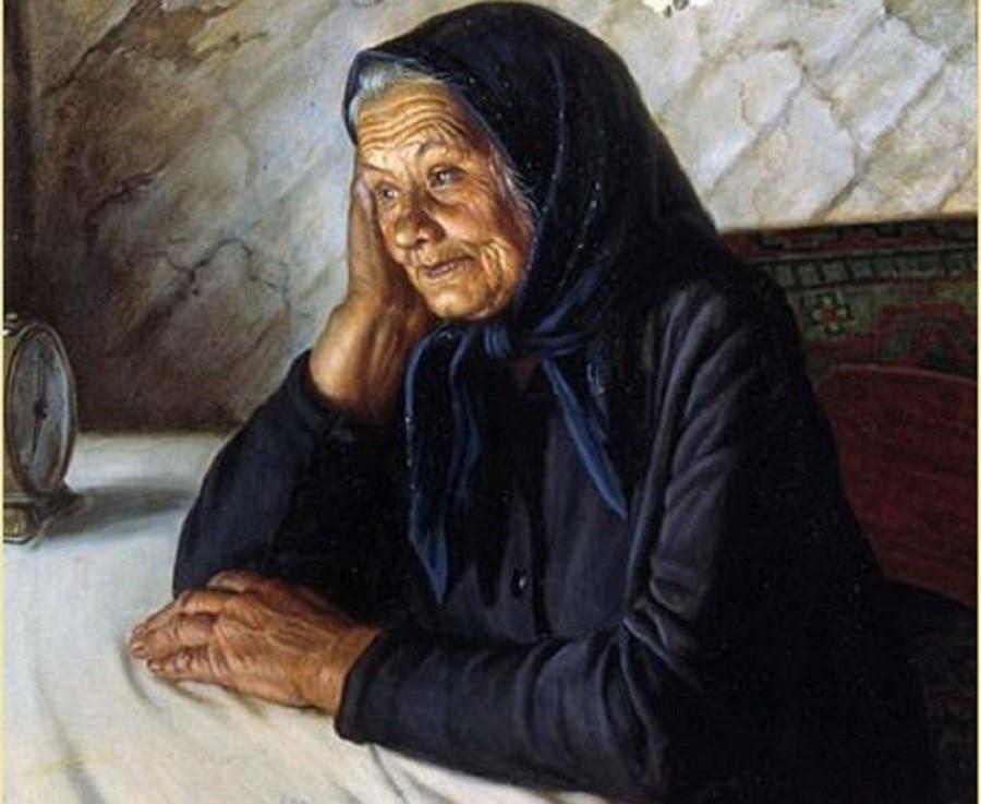 Старенькая мама картинки