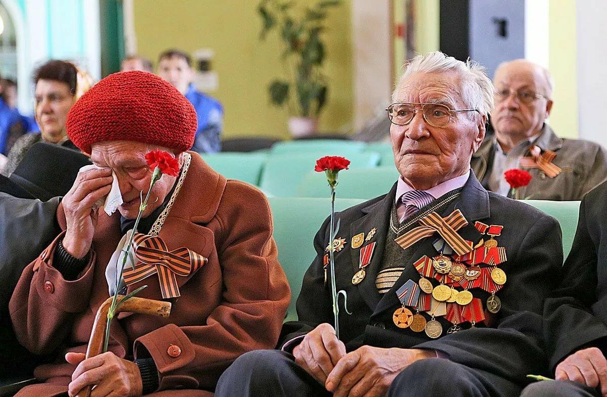 Фото с ветераном великой отечественной войны