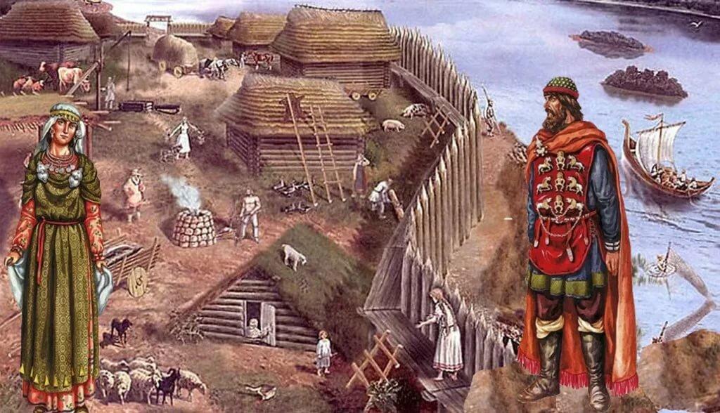что привела люди древней руси картинки кусочек багета