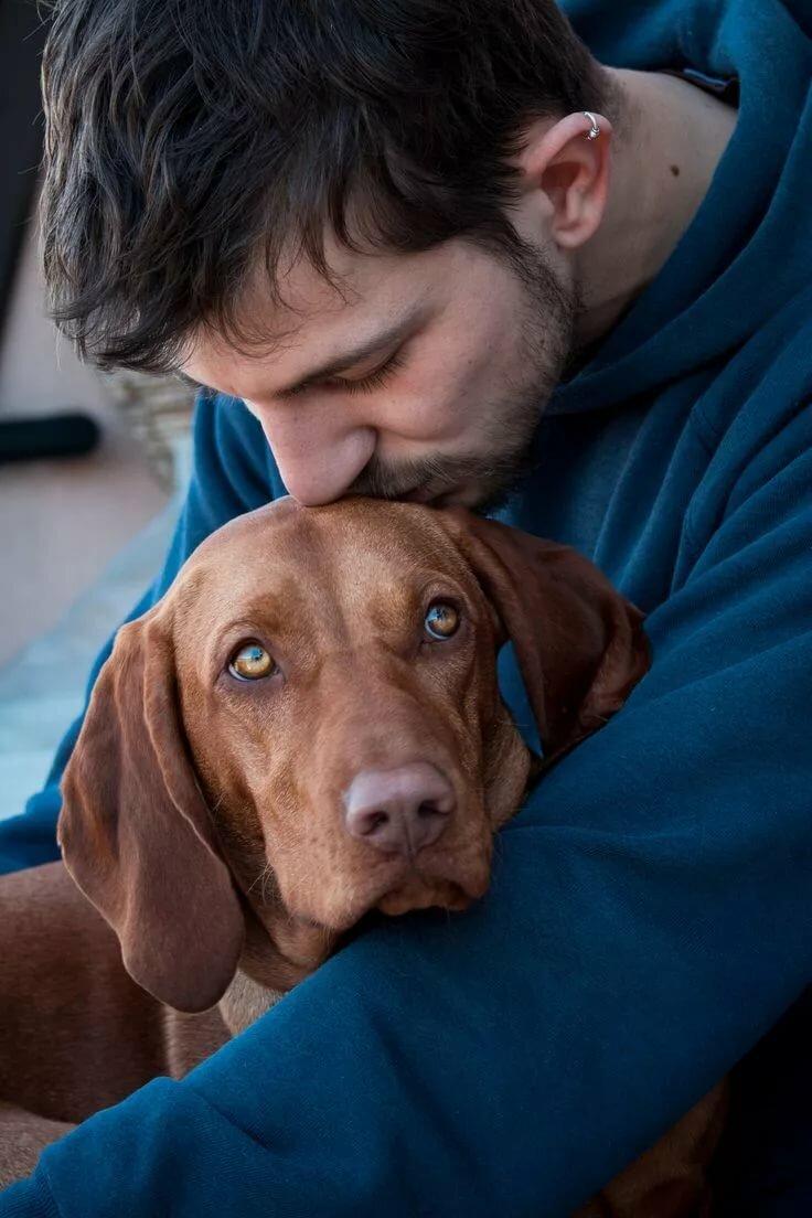 человек и собака фото картинки сервис