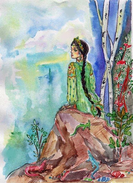 Сказки бажова картинки хозяйка медной горы