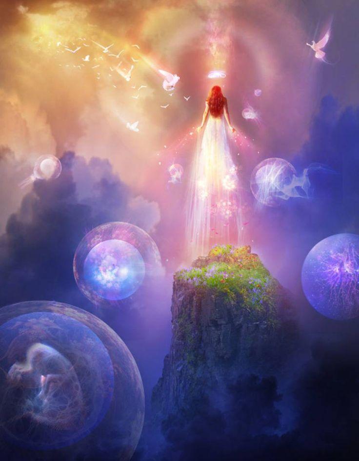 картинки вселенная бог душа дух фигура