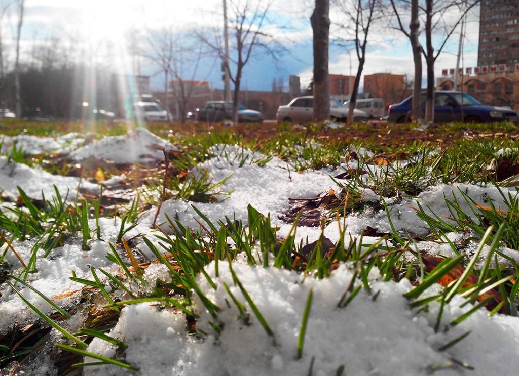 картинка апрель снег значит