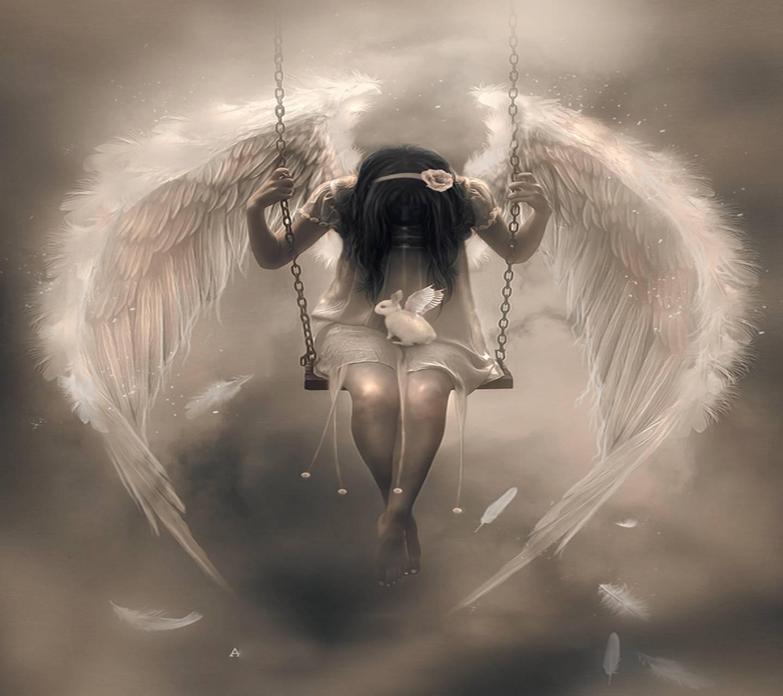 Картинки ангела и слез