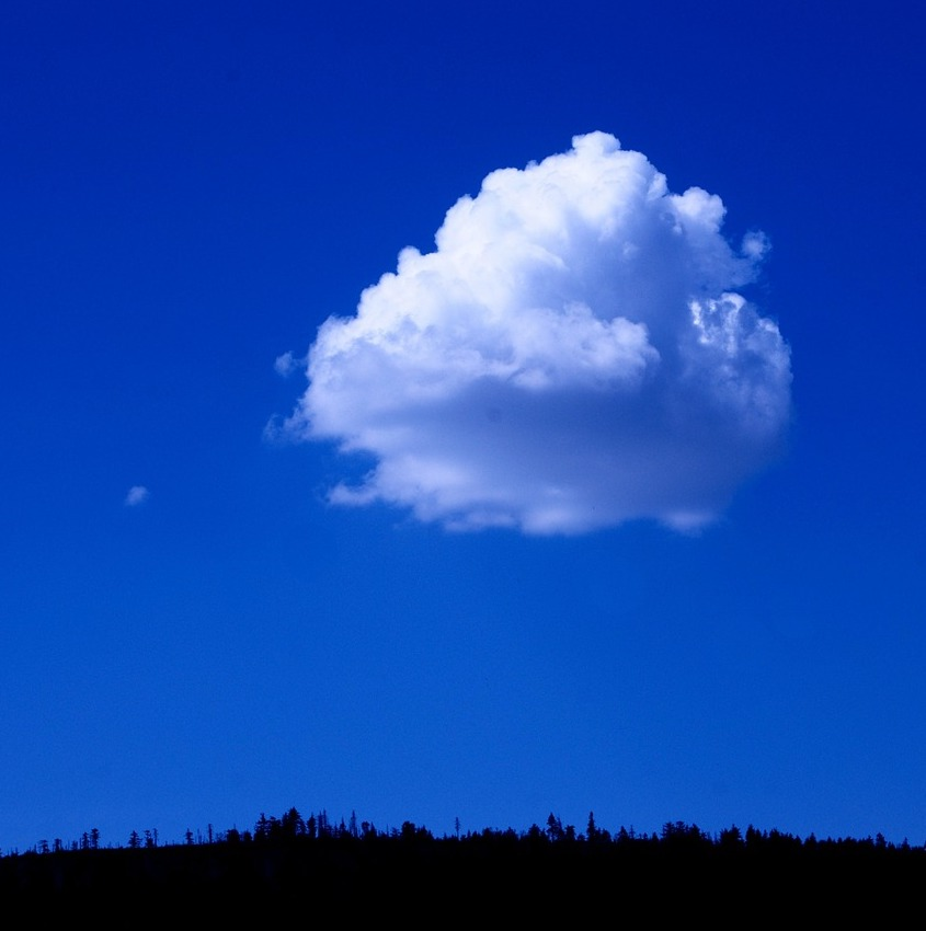 как сфотографировать облака над головой вероника