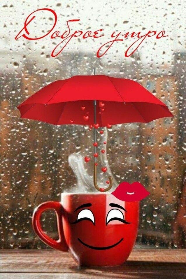 пожелания с добрым дождливым утром в картинках модели тоже