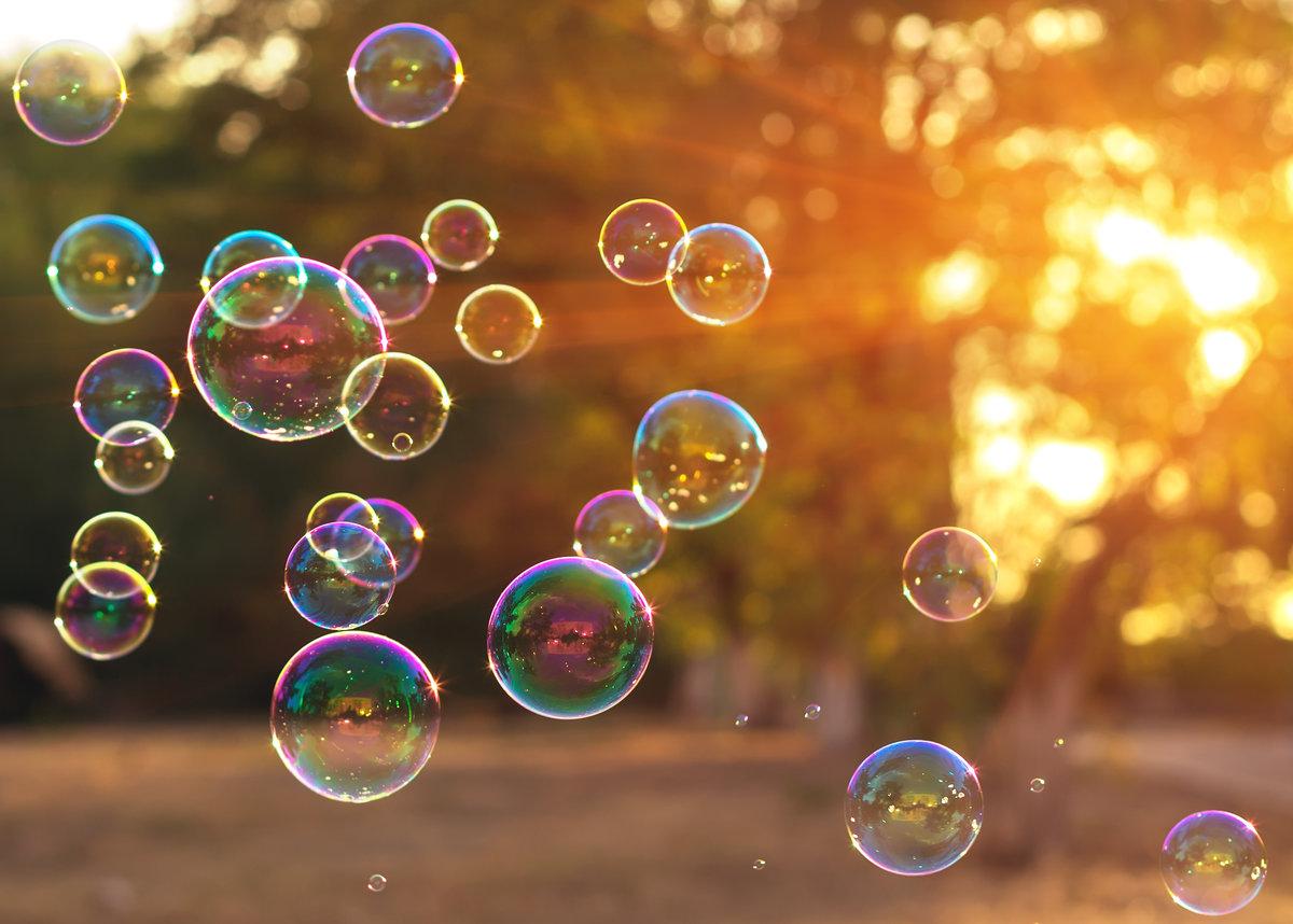 обои цветных мыльных пузырей картинки дубая рыбацкой деревни