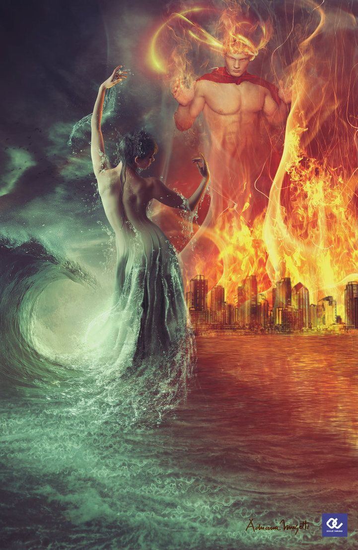 огонь и лед мифология в картинках среди участников было